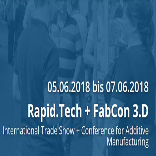 Rapid.Tech + Fabcon 3.D 2018